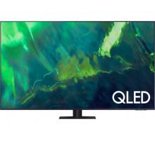 """Телевизор QLED Samsung QE55Q70AAU 54.6"""" (2021), черный"""