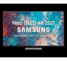"Телевизор QLED Samsung QE55QN85AAU 54.6"" (2021), матовое серебро"