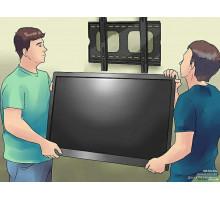 Монтаж телевизора на стену до 55 диагонали.